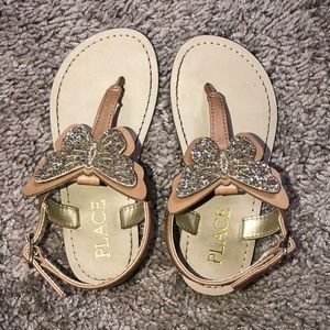🦋Size 7 Toddler Butterfly Sandals🦋
